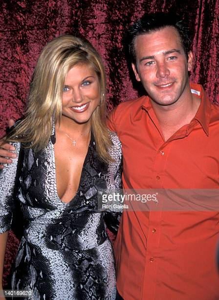 Tiffani Thiessen and Richard Ruccolo at the Glamour Magazine's PreParty for the 52nd Annual Primetime Emmy Awards La Boheme West Hollywood