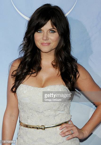 Tiffani Thiessen arrives for the NBC Universal TCA Press Party at the The Langham Huntington Hotel Spa in Pasadena California on August 5 2009