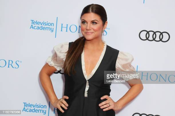 Tiffani Thiessen attends The 12th Annual Television Academy Honors at the Beverly Wilshire Four Seasons Hotel on May 30 2019 in Beverly Hills...