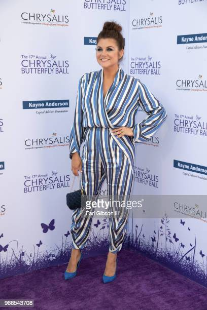 Tiffani Thiessen attends the 17th Annual Chrysalis Butterfly Ball at Private Residence on June 2 2018 in Brentwood California