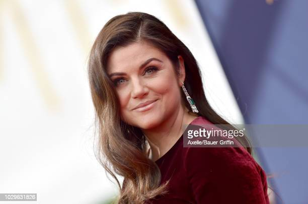 Tiffani Thiessen attends the 2018 Creative Arts Emmy Awards at Microsoft Theater on September 8 2018 in Los Angeles California