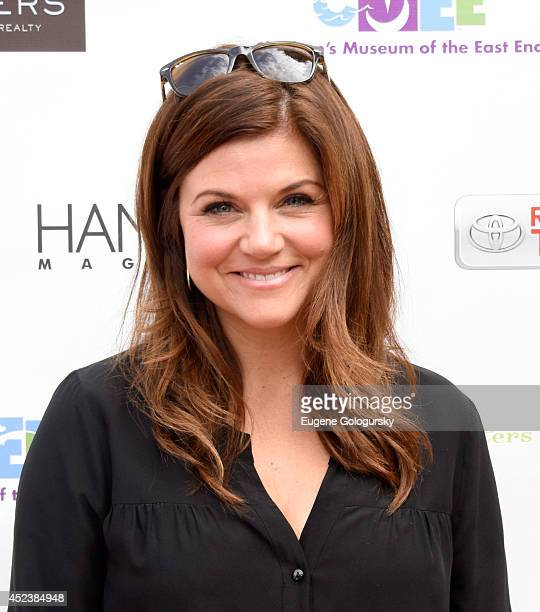 Tiffani Thiessen attends the CMEE 6th Annual Family Fair at Children's Museum of the East End on July 19 2014 in Bridgehampton New York