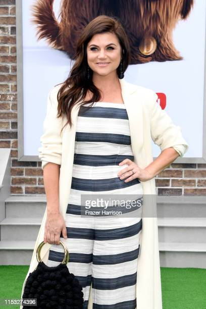 Tiffani Thiessen attends the Premiere of Universal Pictures' 'The Secret Life Of Pets 2' at Regency Village Theatre on June 02 2019 in Westwood...