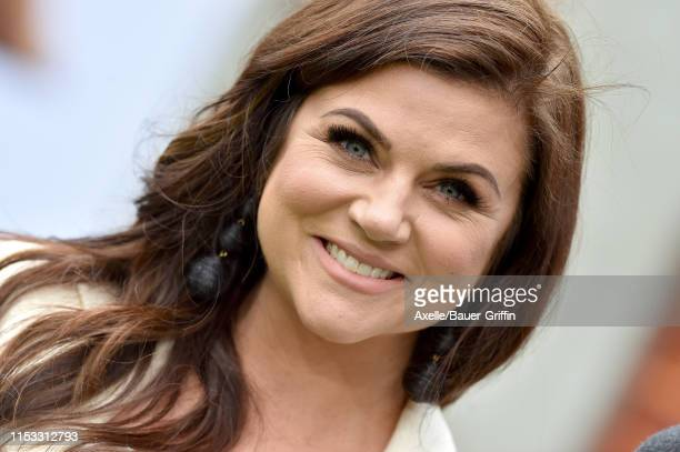 Tiffani Thiessen attends the premiere of Universal Pictures' The Secret Life of Pets 2 at Regency Village Theatre on June 02 2019 in Westwood...