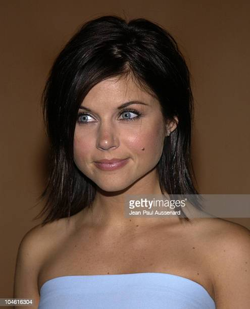 Tiffani Thiessen during 2002 Fox Summer TCA Party at Sky Bar at The Mondrian Hotel in West Hollywood California United States