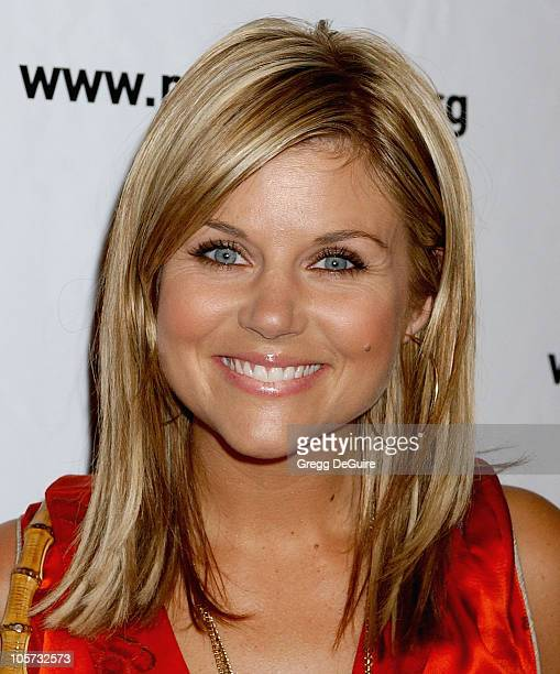 Tiffani Thiessen during 4th Annual Much Love Animal Rescue Celebrity Comedy Benefit Arrivals at The Laugh Factory in Hollywood California United...
