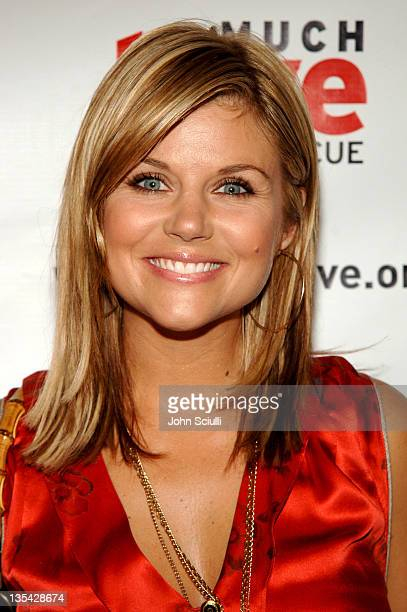 Tiffani Thiessen during 4th Annual Much Love Animal Rescue Celebrity Comedy Benefit Red Carpet at The Laugh Factory in Los Angeles California United...