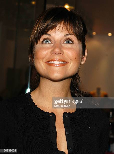Tiffani Thiessen during Nanette Lepore Opens Los Angeles Boutique at Nanette Lepore Boutique in Los Angeles California United States