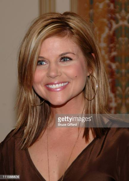 Tiffani Thiessen during Vegas Grand Prix Hosts a StarStudded Charity Gala April 5 2007 at Bellagio Resort in Las Vegas Nevada United States