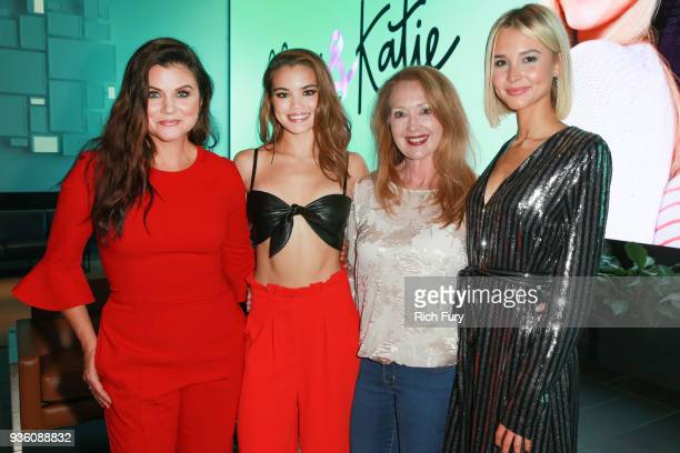 Tiffani Thiessen Paris Berelc Chief Development and Marketing Officer American Cancer Society Sharon Byers and Isabel May attend the Alexa Katie...