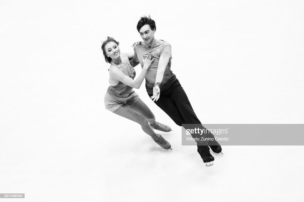 World Figure Skating Championships in Milano - Alternative Views Black & White
