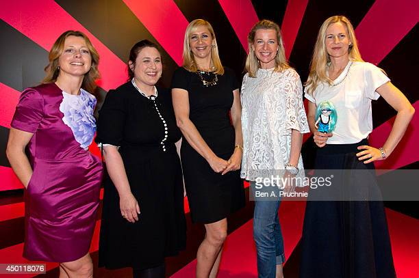Tiffanie Darke Tanya Gold Tania Bryer Katie Hopkins and Alannah Weston attends the Pinkification of Young Girls talk held at the Salon a popup forum...