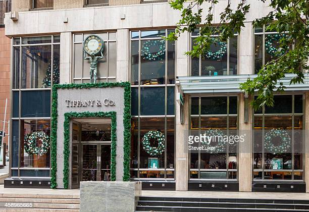 Tiffany and Co shop front. Sydney Australia.