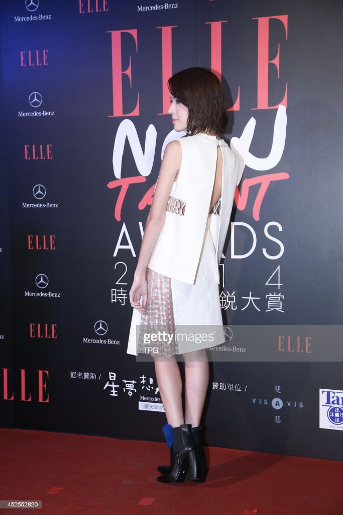 Tiffany attends ELLE New Talent Awards 2014 on Tuesday July 22,2014 in Taipei,China.