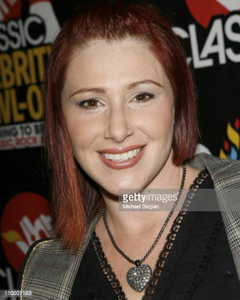 Tiffany attends the VH1 Classic Rock Autism Celebrity Bowl Off charity event held at Lucky Strike Lanes bowling alley on November 13 2008 in...
