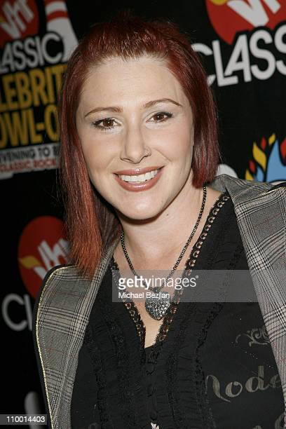 Tiffany attends the VH1 Classic Rock Autism Celebrity Bowl Off charity event, held at Lucky Strike Lanes bowling alley on November 13, 2008 in...
