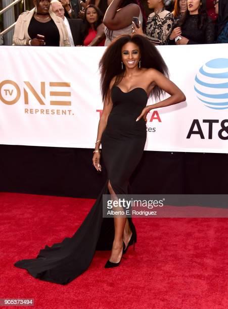 Tiffany Black attends the 49th NAACP Image Awards at Pasadena Civic Auditorium on January 15 2018 in Pasadena California