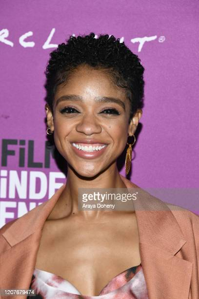 """Tiffany Boone at Film Independent Screening Series Presents """"Hunters"""" at ArcLight Culver City on February 20, 2020 in Culver City, California."""