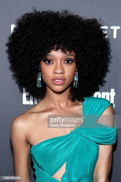 Tiffany Boone attends Entertainment Weekly Celebrates Screen Actors Guild Award Nominees sponsored by L'Oreal Paris Cadillac And PopSockets at...