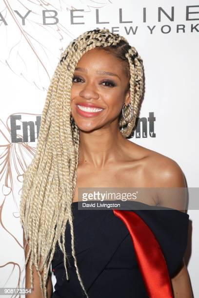 Tiffany Boone attends Entertainment Weekly's Screen Actors Guild Award Nominees Celebration sponsored by Maybelline New York at Chateau Marmont on...