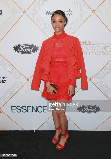 Tiffany Boone attends the 2018 Essence Black Women In Hollywood Oscars Luncheon at Regent Beverly Wilshire Hotel on March 1 2018 in Beverly Hills...