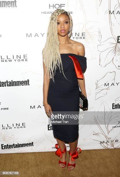 Tiffany Boone attends the Entertainment Weekly hosts celebration honoring nominees for The Screen Actors Guild Awards held on January 20 2018 in Los...