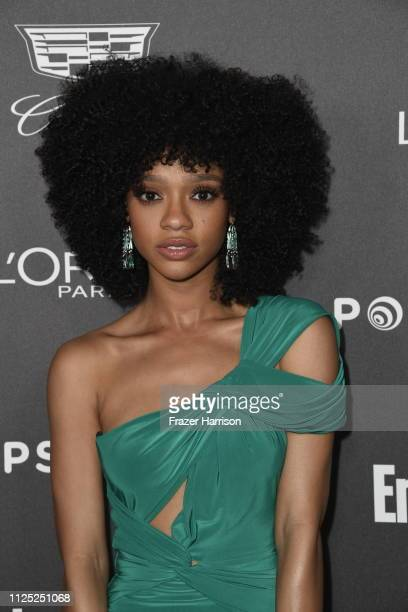 Tiffany Boone attends the Entertainment Weekly PreSAG Party at Chateau Marmont on January 26 2019 in Los Angeles California