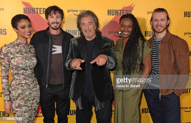 Tiffany Boone Logan Lerman Al Pacino Jerrika Hinton and Greg Austin attend a screening and QA for Amazon Prime Video's upcoming Original series...