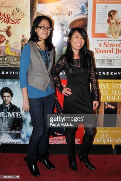 Tiffany Chen and Jenny Lau attend SCREENVISION Celebrates the Holidays at The Bowery Hotel on December 10 2009 in New York