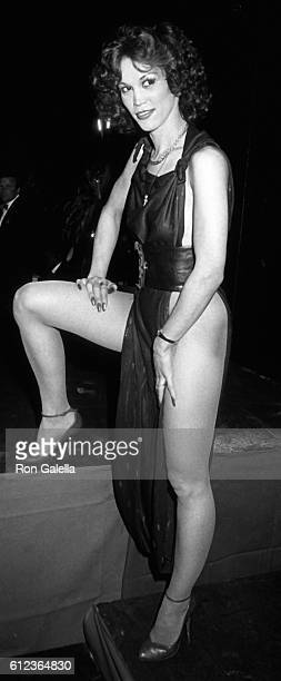 Tiffany Clark attends Eighth Annual Erotic Film Awards on March 14 1984 at the Ambassador Hotel in Los Angeles California