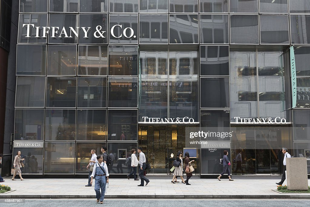 c4738f98f Tiffany Co In Ginza Tokyo Japan Stock Photo - Getty Images