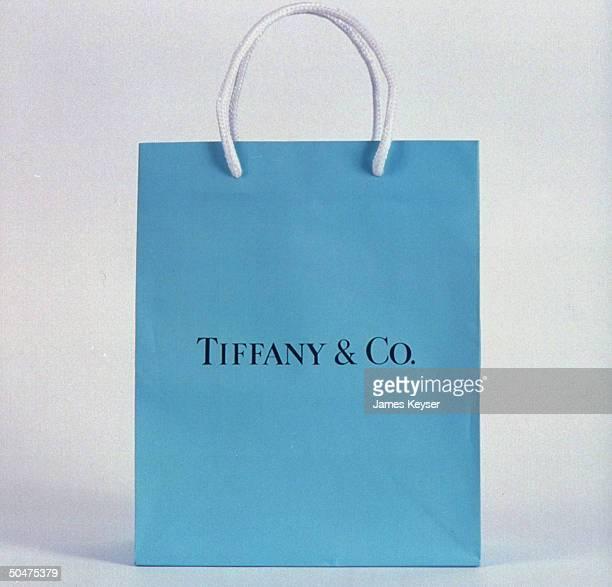 Tiffany Co shopping bag