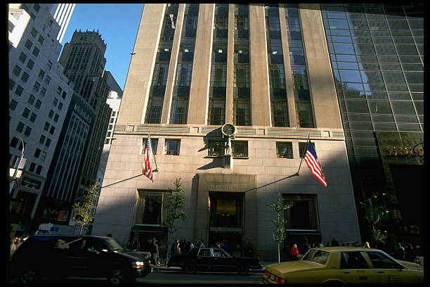 Tiffany & Co. store framed by looming Fi Pictures | Getty Images