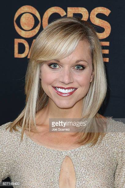 Tiffany Coyne arrives at the CBS Daytime Emmy After Party at Alexandria Ballrooms on May 1 2016 in Los Angeles California