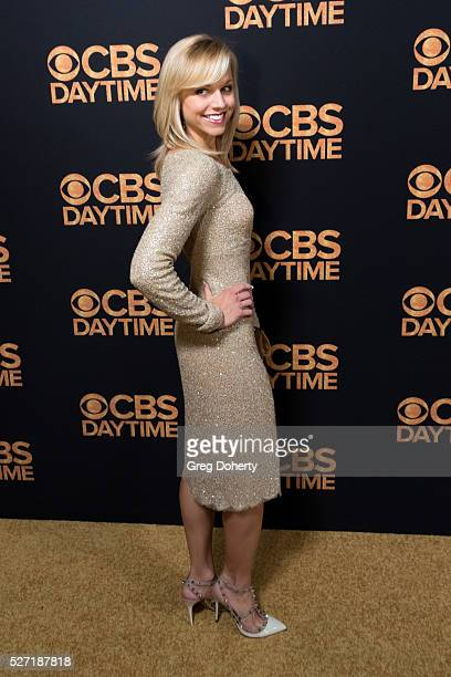 Tiffany Coyne arrives at the CBS Daytime Emmy After Party at the Alexandria Ballrooms on May 1 2016 in Los Angeles California