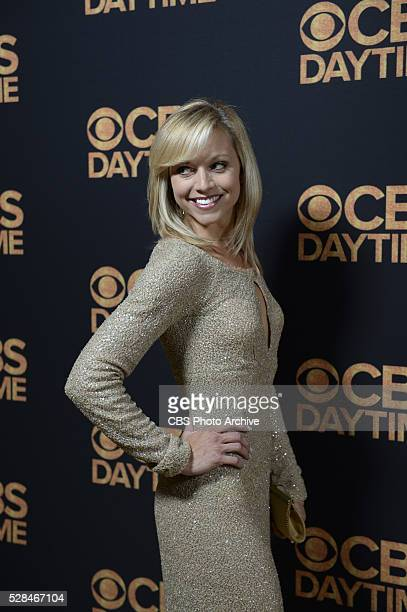 Tiffany Coyne poses for a photograph at the CBS Daytime Emmy Awards afterparty at the Alexandria Ballrooms on Sunday May 1 2016 in Los Angeles...