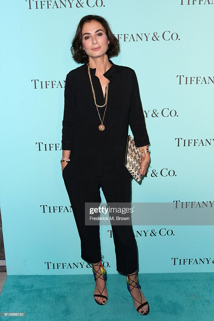 Tiffany Design Director Francesca Amfitheatrof celebrates the unveiling of the renovated Tiffinay & Co. Beverly Hills store at Tiffany & Co. on October 13, 2016 in Beverly Hills, California.