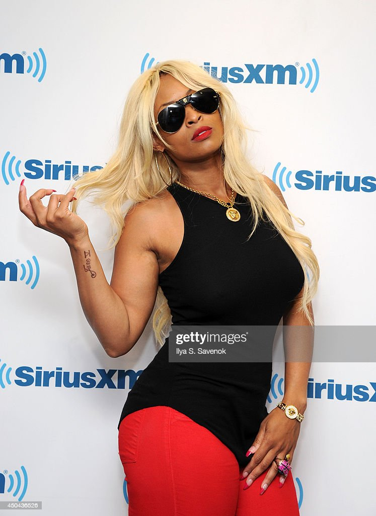 Tiffany Foxx visits the SiriusXM Studios on June 11, 2014 in New York City.