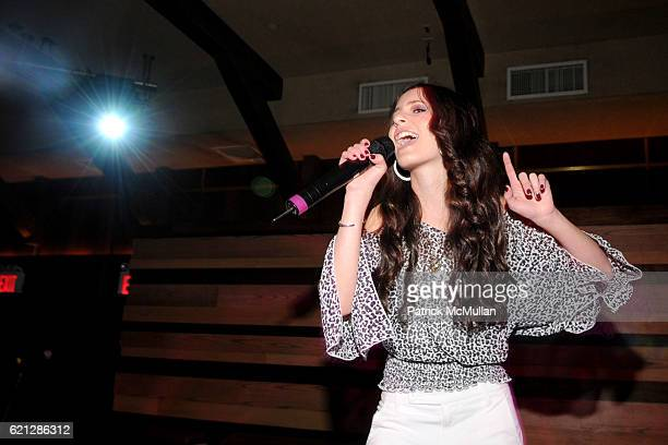 Tiffany Giardina attends Caribou Iced Coffee Presents TEENS MAKING A DIFFERENCE Event to benefit Gabrielle`s Angel Foundation for Cancer Research at...