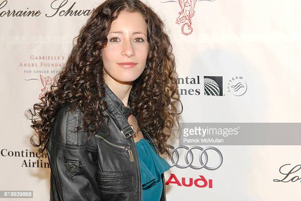 Tiffany Giardina attends GABRIELLE'S ANGEL FOUNDATION For Cancer Research Celebrates Second Decade at Cipriani on October 22 2008 in New York City