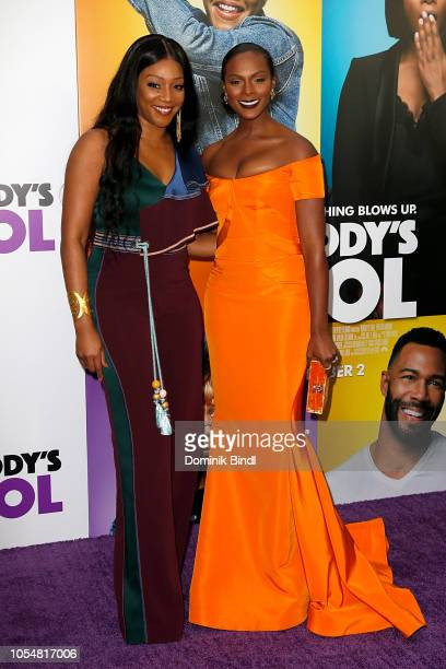 Tiffany Haddish and Tika Sumpter attend 'Nobody's Fool' New York Premiere at AMC Lincoln Square Theater on October 28 2018 in New York City