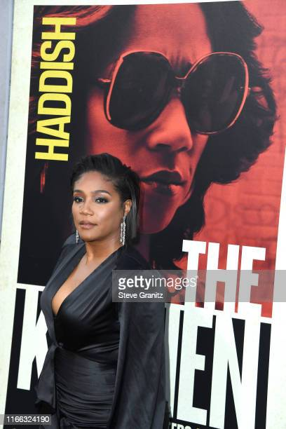 Tiffany Haddish arrives at the Premiere Of Warner Bros Pictures' The Kitchen Premiere Of Warner Bros Pictures' The Kitchen at TCL Chinese Theatre on...