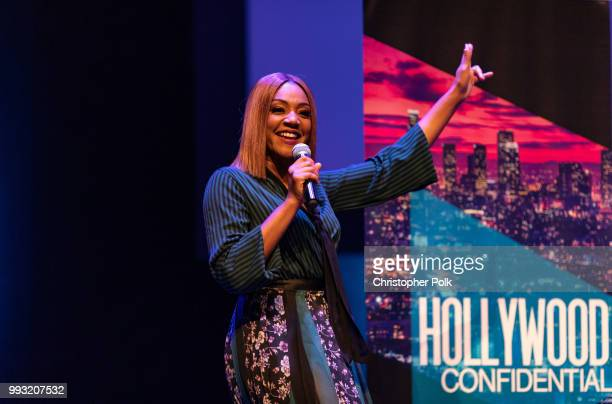 Tiffany Haddish at the Essence Magazine And Hollywood Confidential Present An Evening With Tiffany Haddish at Saban Theatre on July 6 2018 in Beverly...