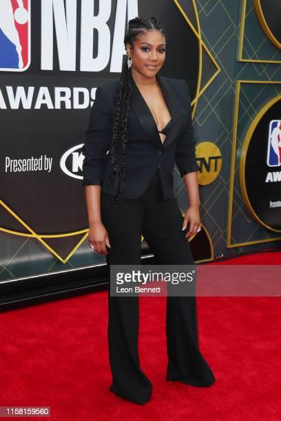 Tiffany Haddish attends 2019 NBA Awards at Barker Hangar on June 24 2019 in Santa Monica California