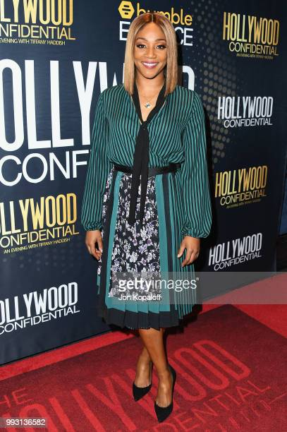 Tiffany Haddish attends Essence Magazine And Hollywood Confidential Present An Evening With Tiffany Haddish at Saban Theatre on July 6 2018 in...