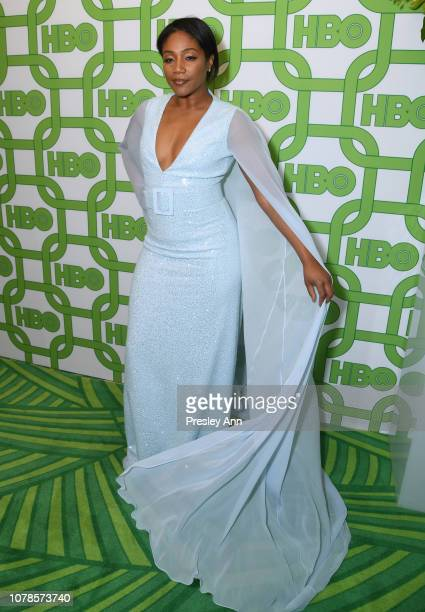 Tiffany Haddish attends HBO's Official Golden Globe Awards After Party at Circa 55 Restaurant on January 6 2019 in Los Angeles California