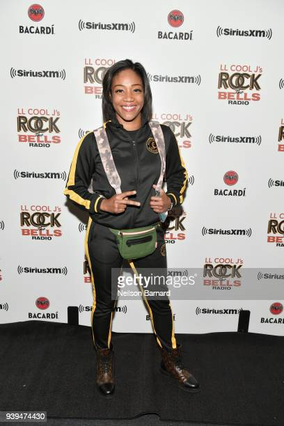 Tiffany Haddish attends LL COOL J Celebrates the Launch of His Exclusive SiriusXM Channel 'Rock The Bells Radio' at World on Wheels in Los Angeles on...