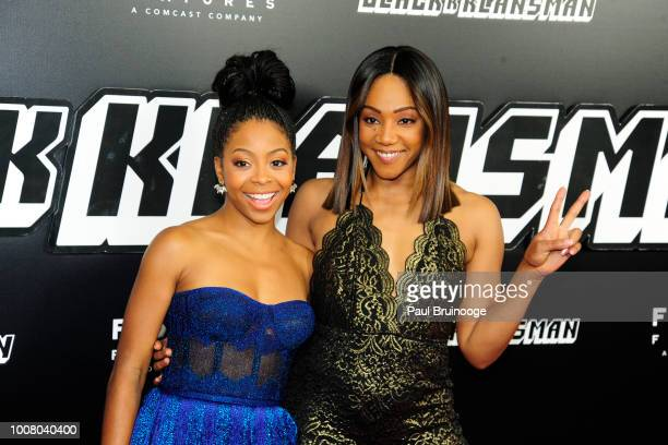 Tiffany Haddish attends New York Premiere Of 'BlacKkKlansman' at Brooklyn Academy of Music on July 30 2018 in New York City