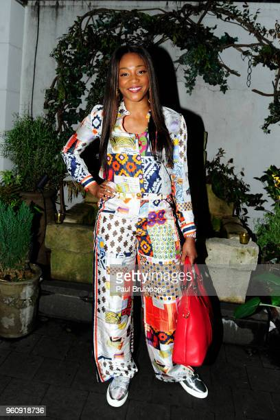 Tiffany Haddish attends OWN With The Cinema Society Host A Party For Ava DuVernay And Queen Sugar at Laduree Soho on May 20 2018 in New York City