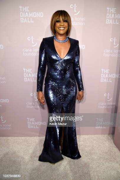 Tiffany Haddish attends Rihanna's 4th Annual Diamond Ball benefitting The Clara Lionel Foundation at Cipriani Wall Street on September 13 2018 in New...